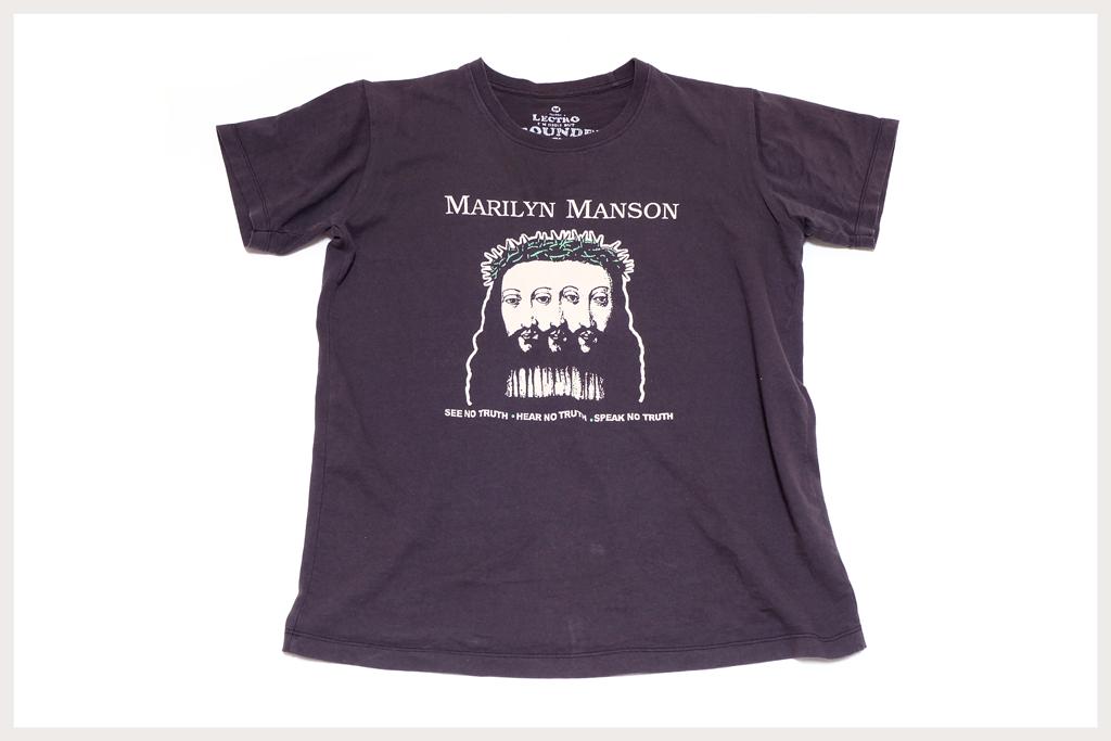 マリリンマンソン Tシャツ全体像