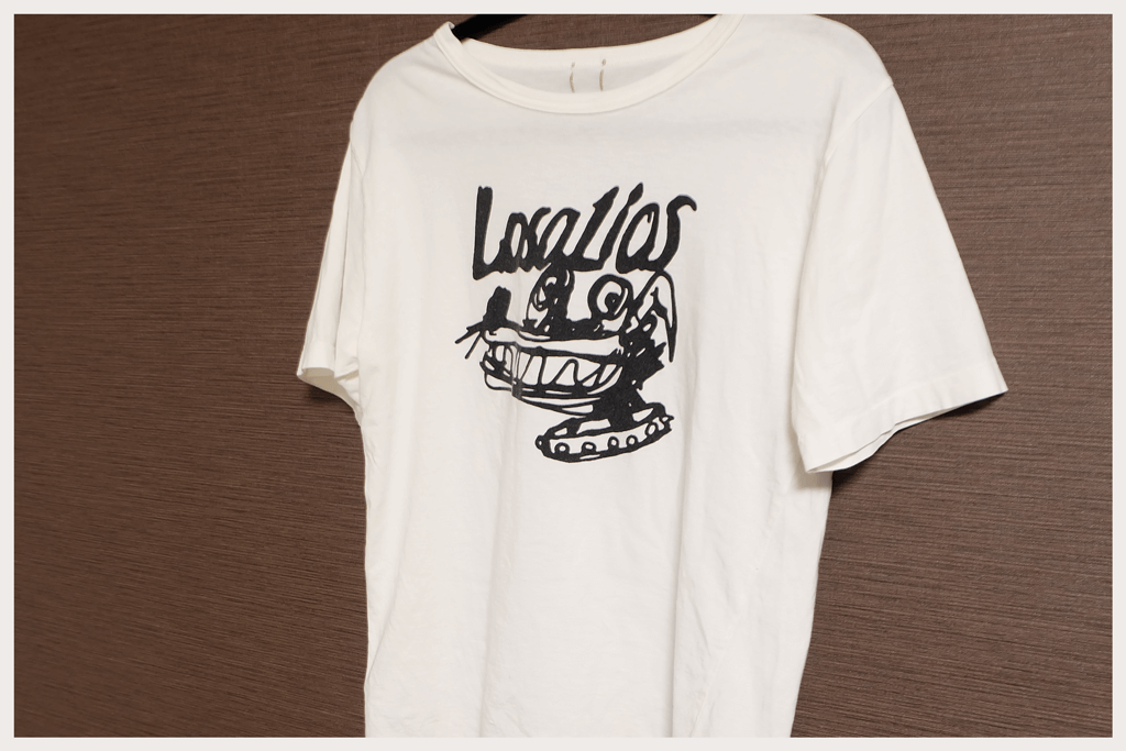 中村達也デザインTシャツ!シャンティ×ロザリオスの懐かしいTシャツ紹介のアイキャッチ2